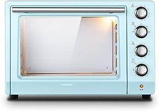 Microwave oven Encimera de Horno Retro Azul compacta, 1800 w de Alta Potencia 1.4 pies cúbicos Horno eléctrico Ingenio a Prueba de explosiones, Control de Temperatura Independiente