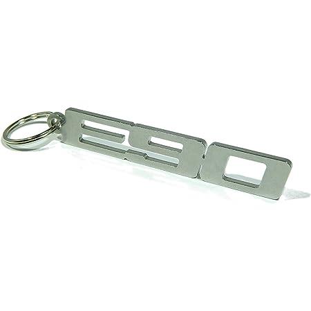 Disagree Schlüsselanhänger E90 Hochwertiger Edelstahl Glänzend Auto