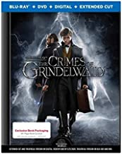 Fantastic Beasts: Crimes of Grindelwald Exclusive Limited Book Packaging Edition (Blu-Ray+DVD+HD*+Extended Cut*) with 64-page Book Excerpt *Digital Codes expire 3/31/20