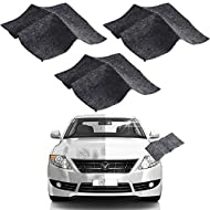 Nano Car Scratch Remover Cloth, Multipurpose Car Scratch Nanomagic Cloth, Car Scratch Remover Kit for Repairing Car Scratches, and Light Paint Scratches Remover Scuffs on Surface - 3PCS (Black)