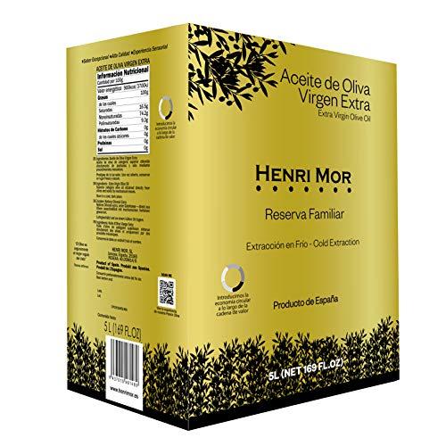 Henri Mor Aceite de Oliva Virgen Extra Reserva Familiar Bag