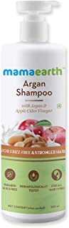 Mamaearth Argan & Apple Cider Vinegar Shampoo For Dry & Frizzy Hair, with Argan & Apple Cider Vinegar for Frizz-Free & Stronger Hair 250 ml