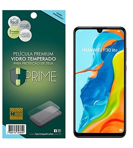 Pelicula de Vidro temperado 9h HPrime para Huawei P30 Lite, Hprime, Película Protetora de Tela para Celular, Transparente