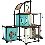 Kitty City Claw Mega Kit Cat Furniture, Cat Feeding Colletion, Cat Condo Collection, Cat Toy, Cat...