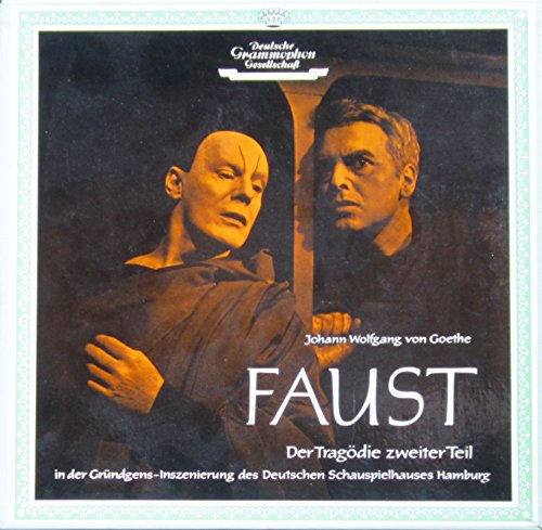 Faust II (Der Tragödie zweiter Teil. In der Gründgens-Inszenierung des Deutschen Schauspielhauses Hamburg, Mai 1958) [Vinyl Schallplatte] [3 LP Box-Set]