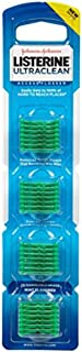 Listerine Ultraclean Access Flossers Disposable Heads Fresh Mint Crystals 28 Each (Pack of 4)
