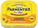 PARMENTIER Sardines Huile de Tournesol 1/6