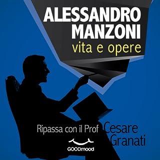 Alessandro Manzoni vita e opere copertina