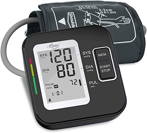 Lovia Blood Pressure Monitor-Automatic Upper Arm Blood Pressure Machine Cuff Kit...