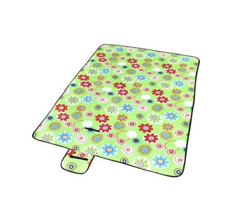 Grand Large (Coussins d'extérieur moisissure Tapis de pique-nique vert