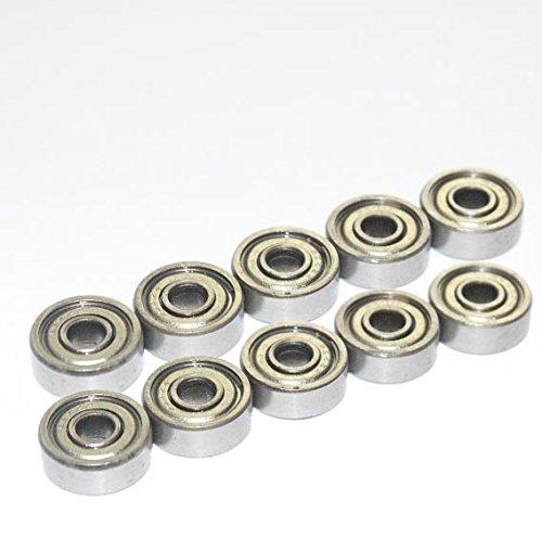 10X CUSCINETTI A SFERA 624. ZZ 4* 13* 5mm