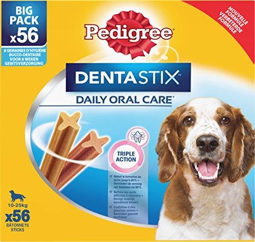 PEDIGREE 124231/2201 Dentastix Btonnets - Pour moyens chiens - 1440 g