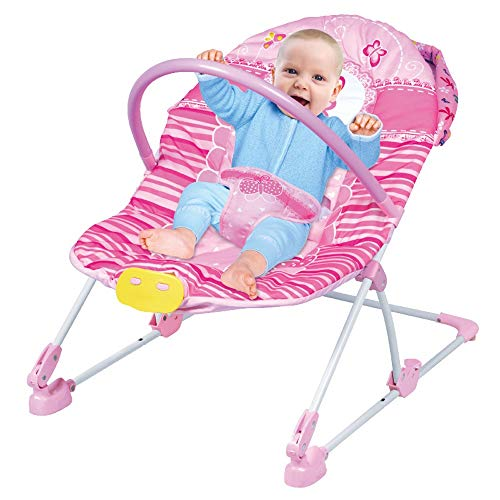 Best Review Of Btybess Light Music Infant-to-Toddler Bouncers, Rocking Chair Baby Lounge Chair with ...
