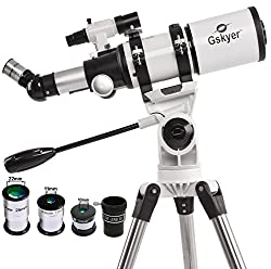 Best Telescopes for Teenagers - GSkyer Astronomical Refractor Telescope Review