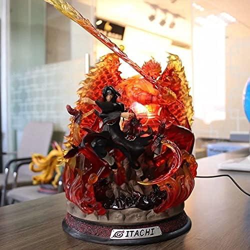 FWSJK Uchiha Itachi PVC Material Courier shipping free shipping F Statue Figure Max 74% OFF Character Anime