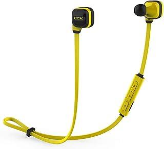 XGCCDAU CCK KS Bluedio 4.1 Stereo Music Earphone Wireless Headphones Headset Running Sport Gym Earbuds (Color : Yellow, Size : KS)