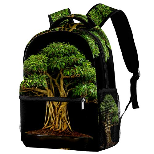 12' College School Computer Bag for Men & Women,Bonsai Plants