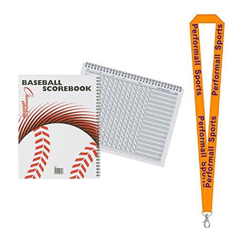 Champion Sports Scorebook White 2-Pack Bundle