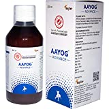 AAYOG Advance is made from natural essentail olis. Hence, the color & taste of the formulation may change but its efficacy will remain unaltered. Proprietary Ayurvedic Medicine. Clinical Trials are performed as per the guidelines of ICMR RECOMMENDED ...