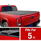 MaxMate Soft Tri-Fold Truck Bed Tonneau Cover Compatible with...