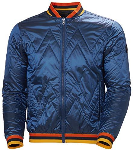Helly Hansen Tricolore Quilted Insulator JA Abrigo, 639 Electric Blue, XL para Hombre