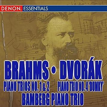 Brahms: Piano Trios Nos. 1 & 2 - Dvorák: Trio No. 4 'Dumky'