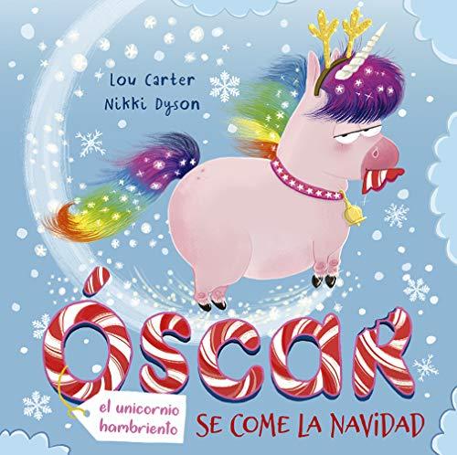 Óscar, el unicornio hambriento, se come la Navidad