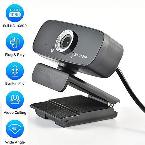 LFZP HD 1080P Webcam Plug & Play-Mikrofon 360-Grad-Drehung Autofokus USB-Kamera Für Live-Videokonferenz-Klasse Portraitfotografie Gebaut