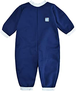 Splash About Warm in One Baby Wetsuit (X Large (12-24 Months), New Navy)