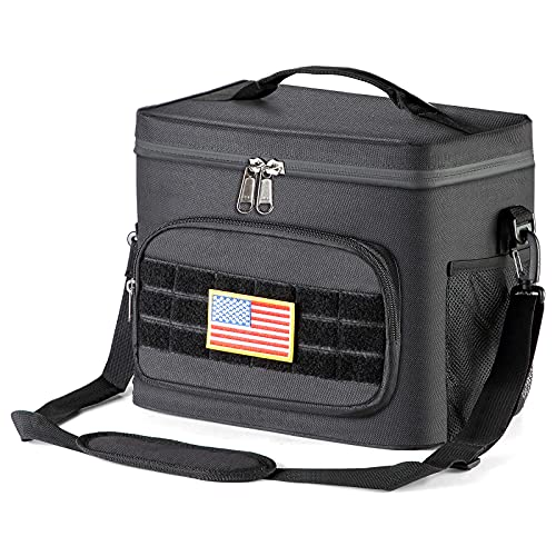Tactical Lunch Bag,Insulated Cooler,Thermal Lunch Box...