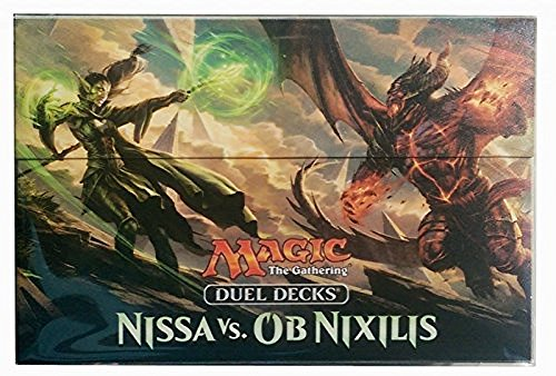 Ultra Pro 86403 Box-Magic: The Gathering-Duel Deck Nissa vs. Ob Nixilis