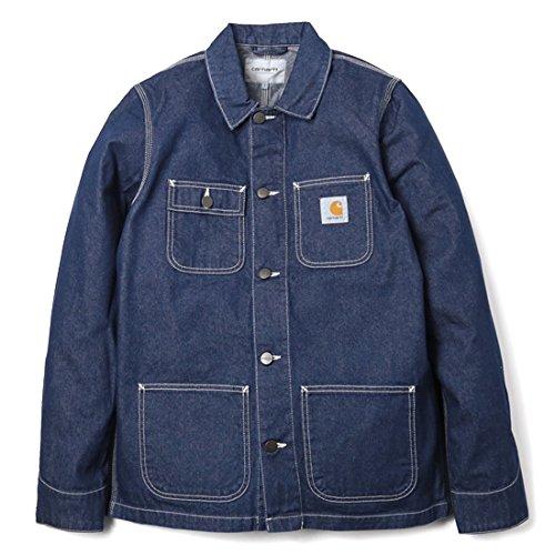 CARHARTT WIP カーハート Michigan Chore Coat カバーオール ワークジャケット ブルー/Mサイズ