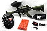 Tippmann Olive Cronus with 48/3000 HPA Tank, 200 Rd Hopper, Mask and 200 paintballs