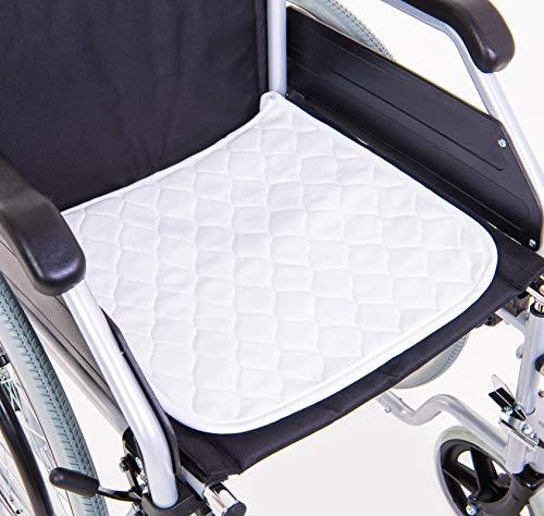 OrtoPrime Travesero Empapador Silla de ruedas - Absorción 3,8 L/m2 - Protector Empapador Impermeable - 400 Lavados - Travesero Reutilizable Indicado para Sillas de Ruedas - Asientos Hogar y coche