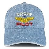 Trendy Apparel Shop Drone Pilot Aviation Wing...