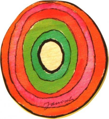 Janosch Buchstaben Holzbuchstaben O ca. 6cm