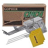Cinch Traps-Medium Gopher Trap Kit: 3 Gopher Traps with...