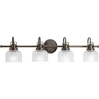 Progress Lighting P2997-74 Med Bath Bracket, 4-100-watt
