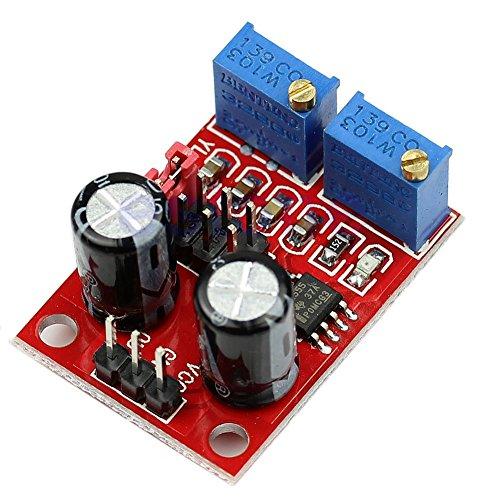 daorier Pulse Frequenz Duty Cycle verstellbar Modul Square Wave Signal Generator DC 5–15V NE555Stepper Motor Driver/Controller