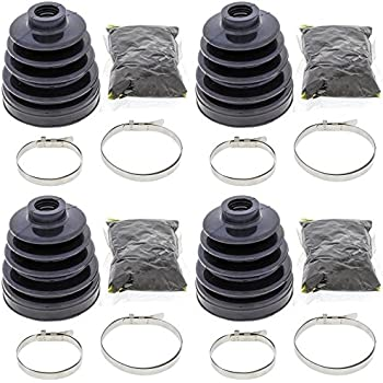 Complete Front Inner or Outer CV Boot Repair Kit for Suzuki LT-A400F Eiger 4wd 2003 All Balls