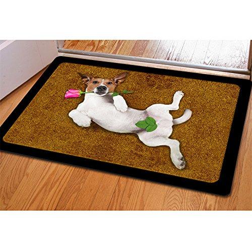 Coloranimal Kawaii - Felpudo 3D para puerta de perro