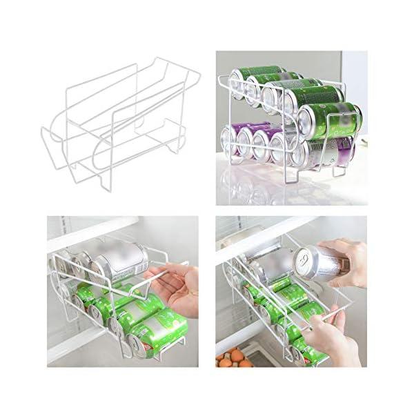 PinShang Soporte para latas de Cerveza, dispensador de refrescos, Organizador