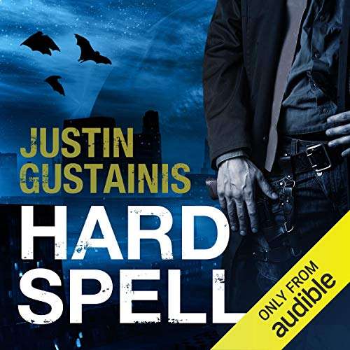 Hard Spell     Occult Crimes Unit Investigations, Book 1              By:                                                                                                                                 Justin Gustainis                               Narrated by:                                                                                                                                 Peter Brook                      Length: 10 hrs and 46 mins     197 ratings     Overall 3.6