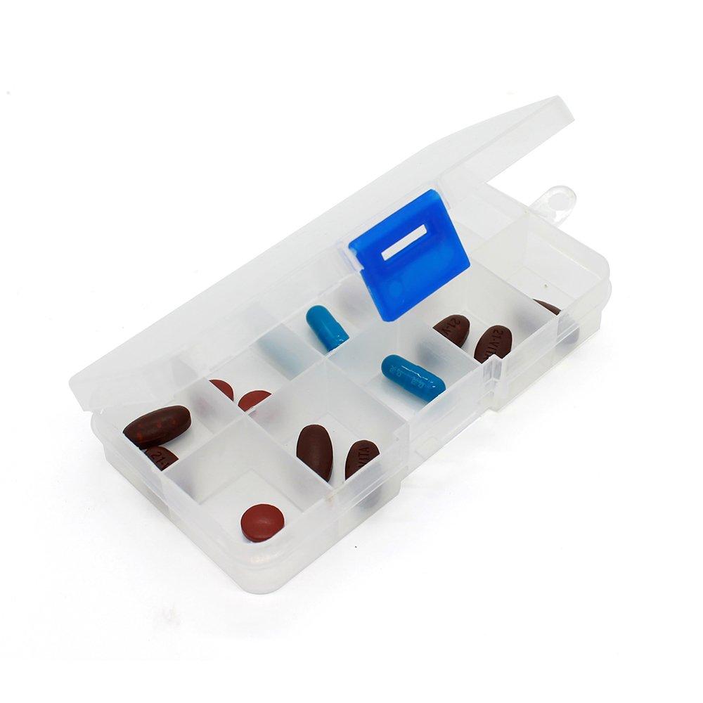 Q4Home Pequeña Caja De Plástico De Almacenamiento Pequeña En ...