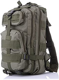 Outdoor Sports Military Green Backpack Hiking 3P Assault Tactical Backpack