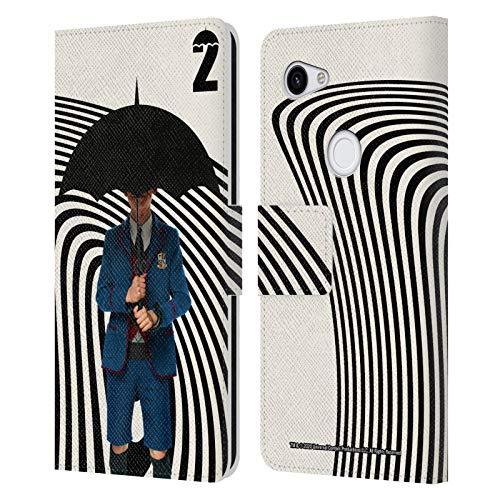 Head Case Designs Offizielle Zugelassen The Umbrella Academy Number Five Staffel 2 Darsteller Leder Brieftaschen Handyhülle Hülle Huelle kompatibel mit Google Pixel 3a