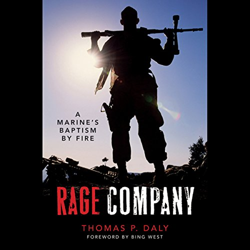 Rage Company audiobook cover art