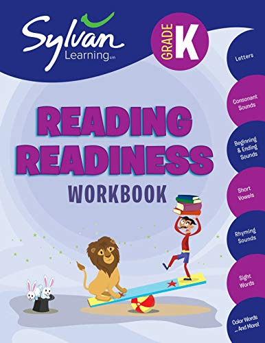 Compare Textbook Prices for Kindergarten Reading Readiness Workbook: Letters, Consonant Sounds, Beginning and Ending Sounds, Short Vowels,  Rhyming Sounds, Sight Words, Color Words, and More Sylvan Language Arts Workbooks Workbook Edition ISBN 9780375430206 by Sylvan Learning