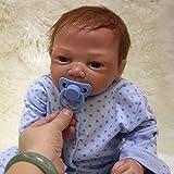 Nicery Reborn Puppen 20 Zoll 48-50 cm Weiche Vinyl und Stoff Schöne Baby Doll für Jungen Mädchen...