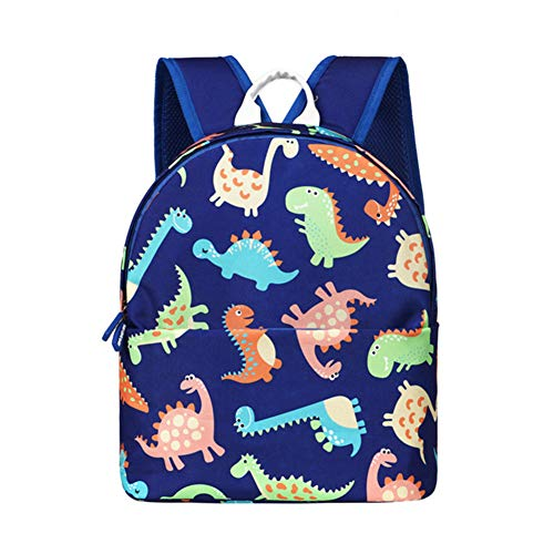 GT-LYD Kid's Backpack, Dinosaur Children's Backpack, Cute Cartoon School Backpack, Lightweight Student School Bag for Boy & Girl,Blue